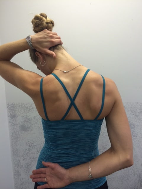 Photo 5: Levator scapula stretch » Mackarey & Mackarey ...